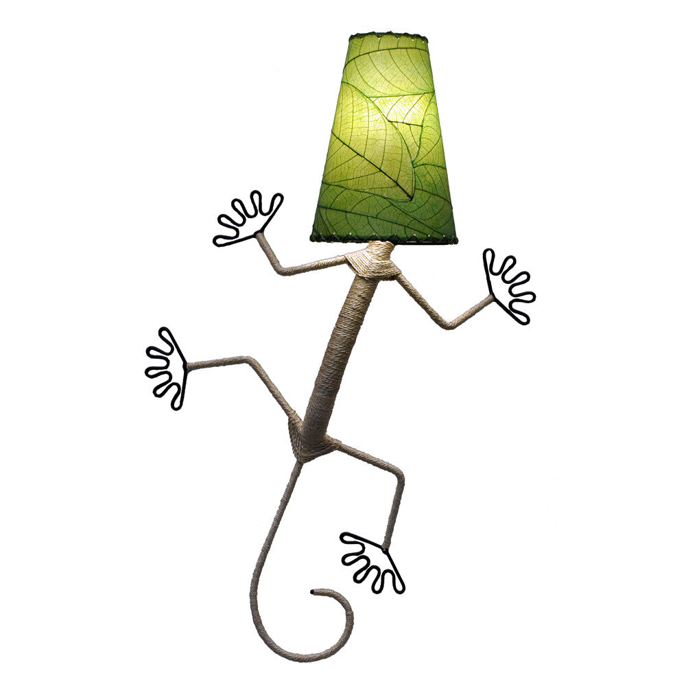 Gecko Lamp - Green - Om Gallery