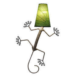 Gecko Wall Lamp, Green