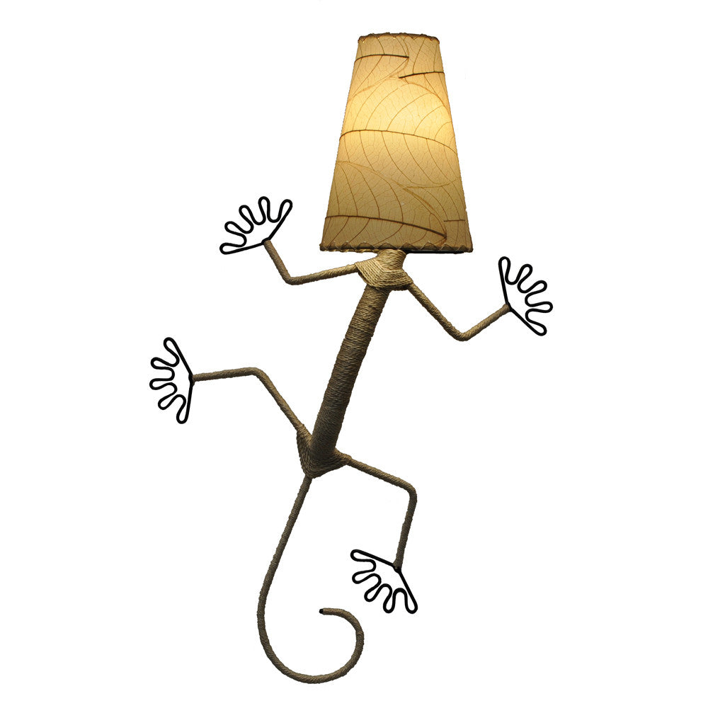 Gecko Wall Lamp - Natural