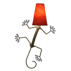 Gecko Wall Lamp, Red