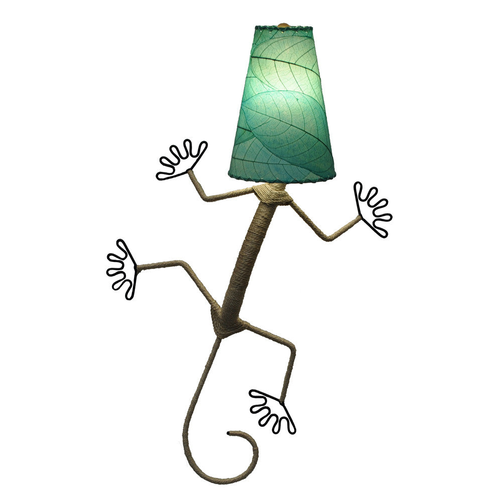 Gecko Lamp - Sea Blue - Om Gallery