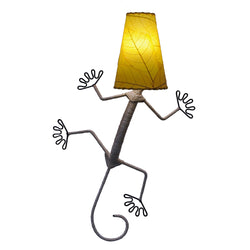 Gecko Wall Lamp, Yellow