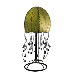 Jellyfish Table Lamp, Green