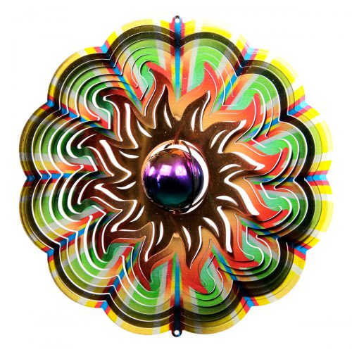 Gazing Sun Wind Spinner