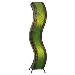 Wave Large Floor Lamp, Green