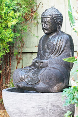 Water Fountain Sitting Buddha