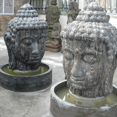 Buddha Head Fountain - XL