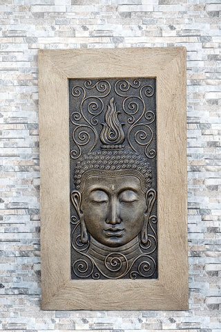 Relief Thailand Buddha Wall Decor
