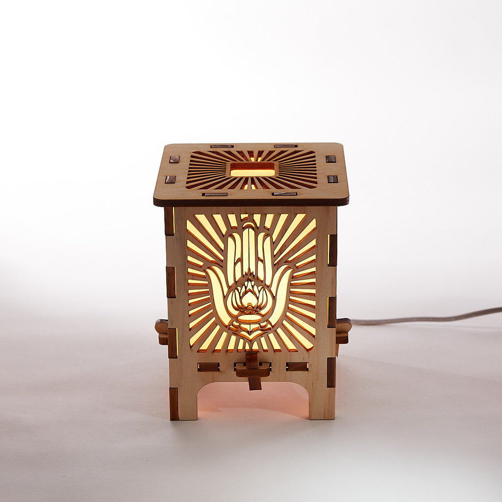 Hamsa Table Lamp