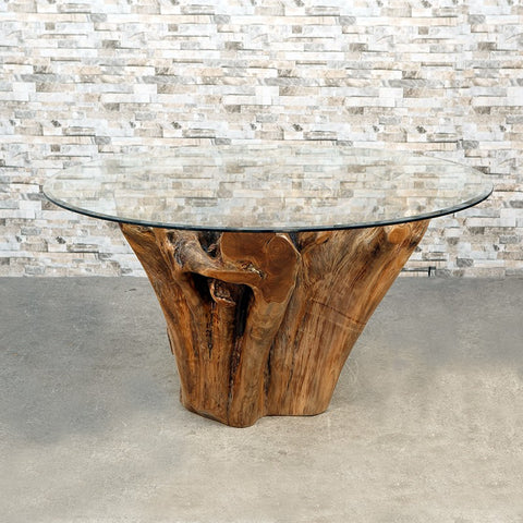 Habini Teak Root Dining Table - Om Gallery