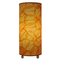 Banyan Table Lamp, Orange