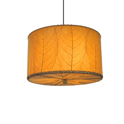 Hanging Drum Pendant Lamp Small, Orange