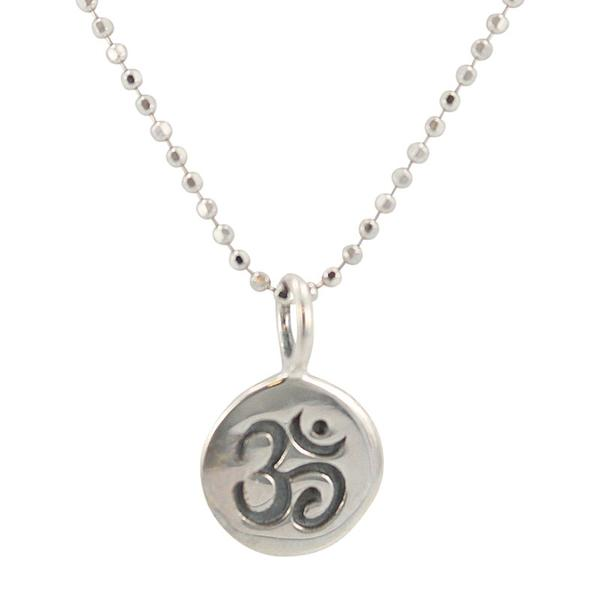 Tiny OM Necklace