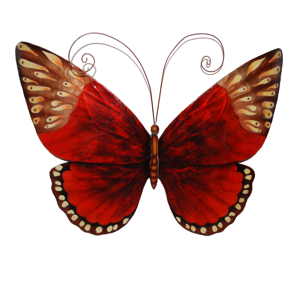 Wall Butterfly Red