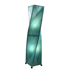 Twist Floor Lamp, Blue
