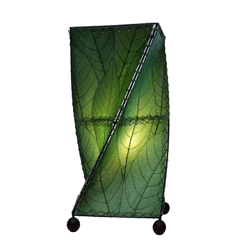 Twist Table Lamp - Green