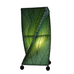 Twist Table Lamp, Green