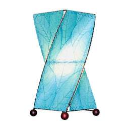 Twist Table Lamp, Blue