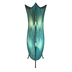 Flower Bud Floor Lamp, Sea Blue