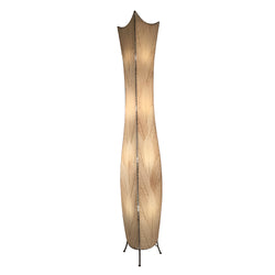 Flower Bud Giant Floor Lamp, Natural
