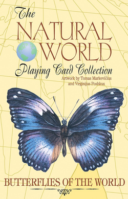 Butterflies of the World - Playing Cards