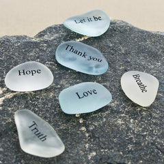 Medium Sea Glass Stones (Word)