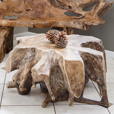 Habini Teak Coffee Table - Om Gallery