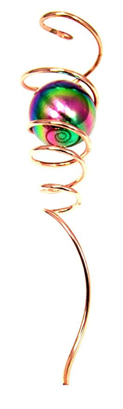 Wind Spinner Copper Spiral Tail, Gazing