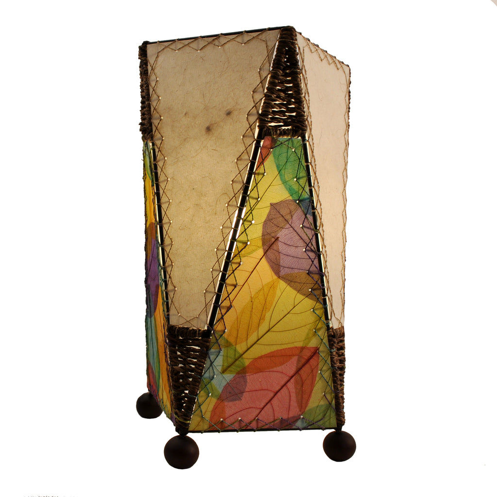 Banyan Leaf Trapezoid Table Lamp