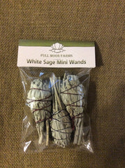 Califoria White Sage 3Pk Mini Wands