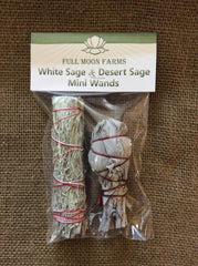 Mini White Sage & Desert Sage Kit