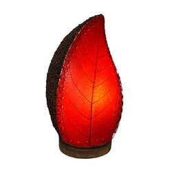 Leaflet Table Lamp, Red