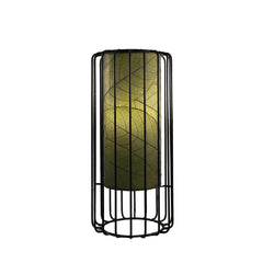 Wire Frame Cocoa Leaf Table Lamp