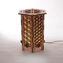 Flower of Life Table Lamp (Tall)