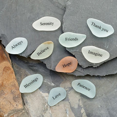 Mini Sea Glass Stones (Word)