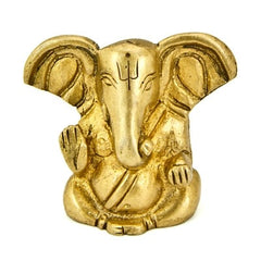 Ganesh Brass Statue - Extra Small