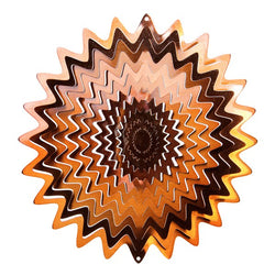 Starburst Wind Spinner, Copper / Small