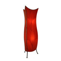 Flower Bud Floor Lamp, Red