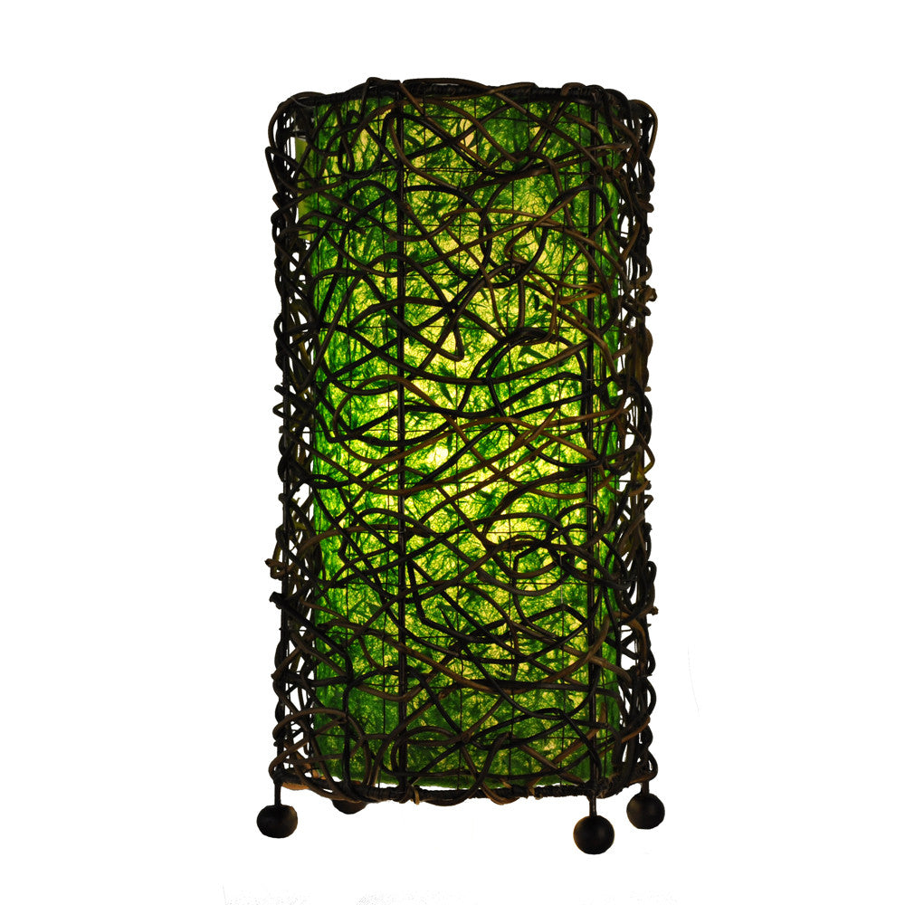 Durian Table Lamp - Green - Om Gallery