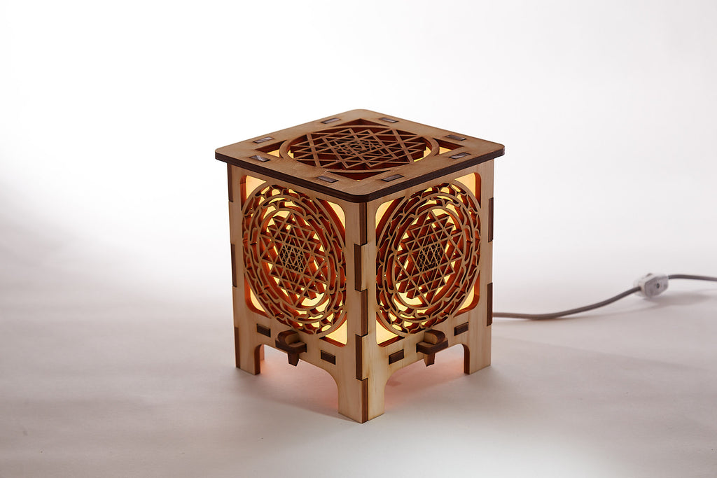 Sri Yantra table Lamp