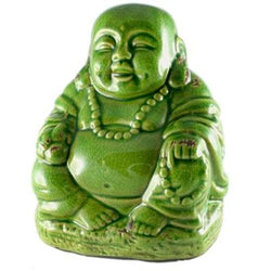 Crackle Buddha, Green