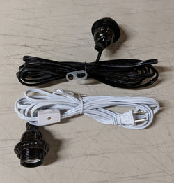 Light Cord - Electrical Kit, White