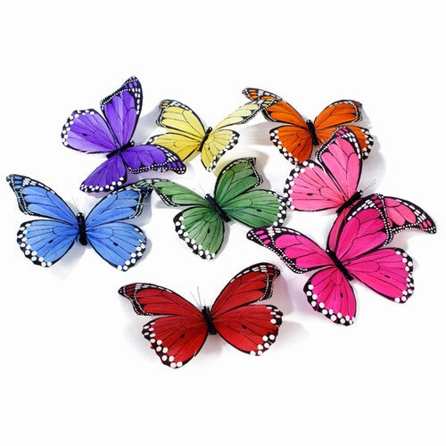 Large - Butterfly Garland Multi Color - Om Gallery