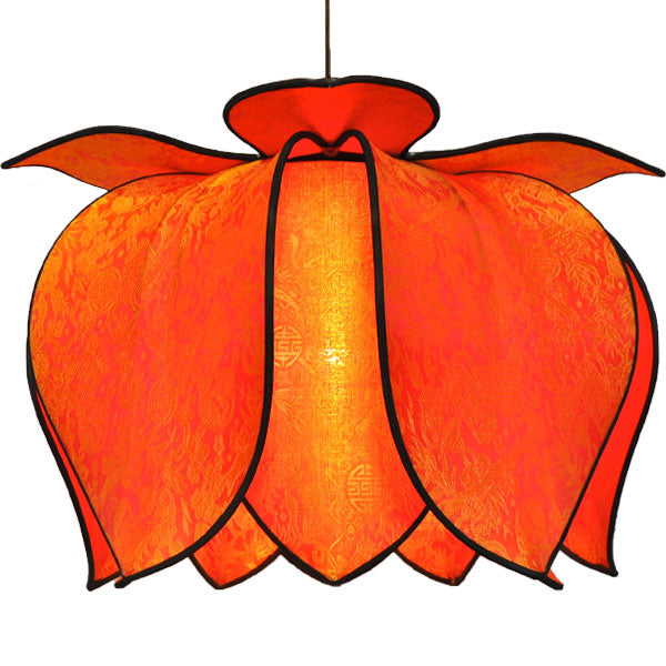 Hanging Blooming Lotus Lamp 20