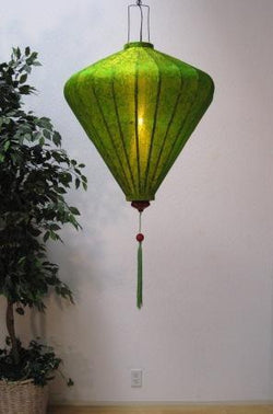 Chinese Lantern Diamond 4', Lime