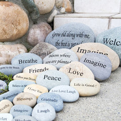 Large Engraved Stones (Phrases)