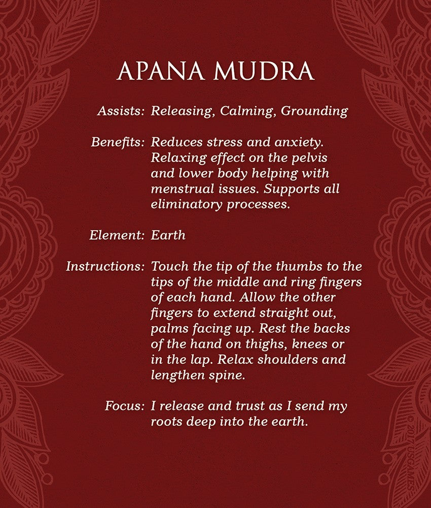 Mudras Deck for Awakening the Five Elements