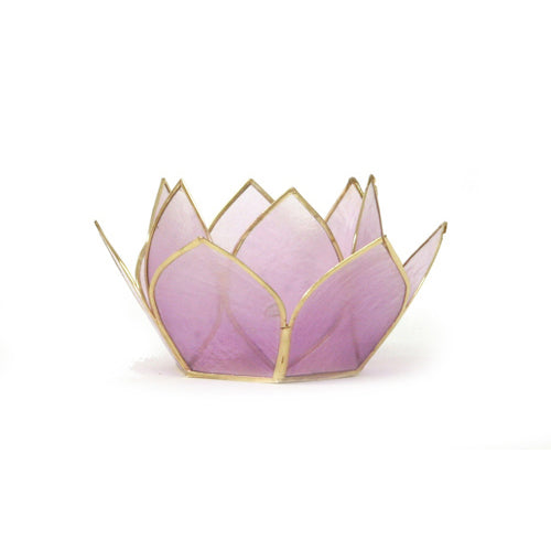 Mini Gemstone Lotus Tea Light Holder