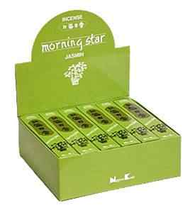 Morning Star Jasmine Incense - 50 Sticks Pack