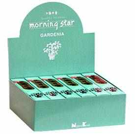 Morning Star Gardenia Incense - 50 Sticks Pack